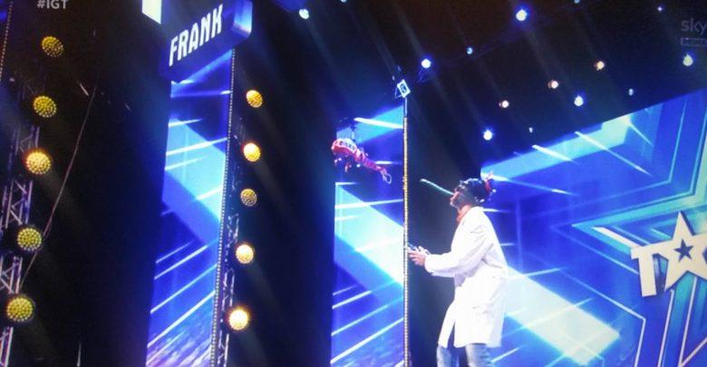 Video Tony a Italia's Got Talent: Lo Scienziato pazzo