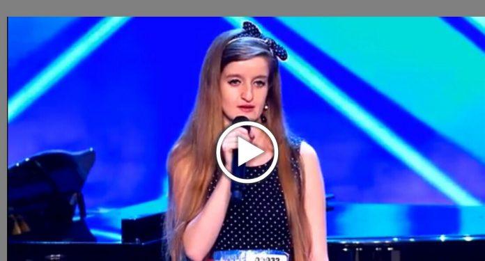Video Alice Italia's Got Talent: La cantante indemoniata