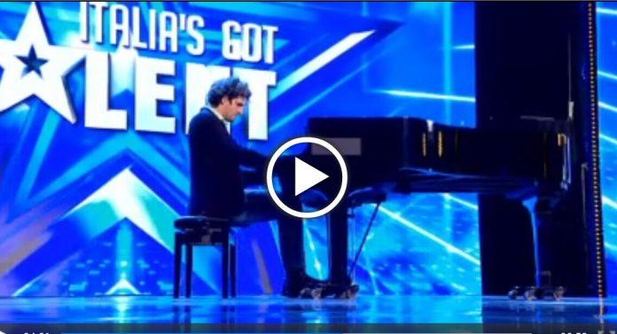Ivan a Italia's Got Talent: Il pianista cieco (Video)