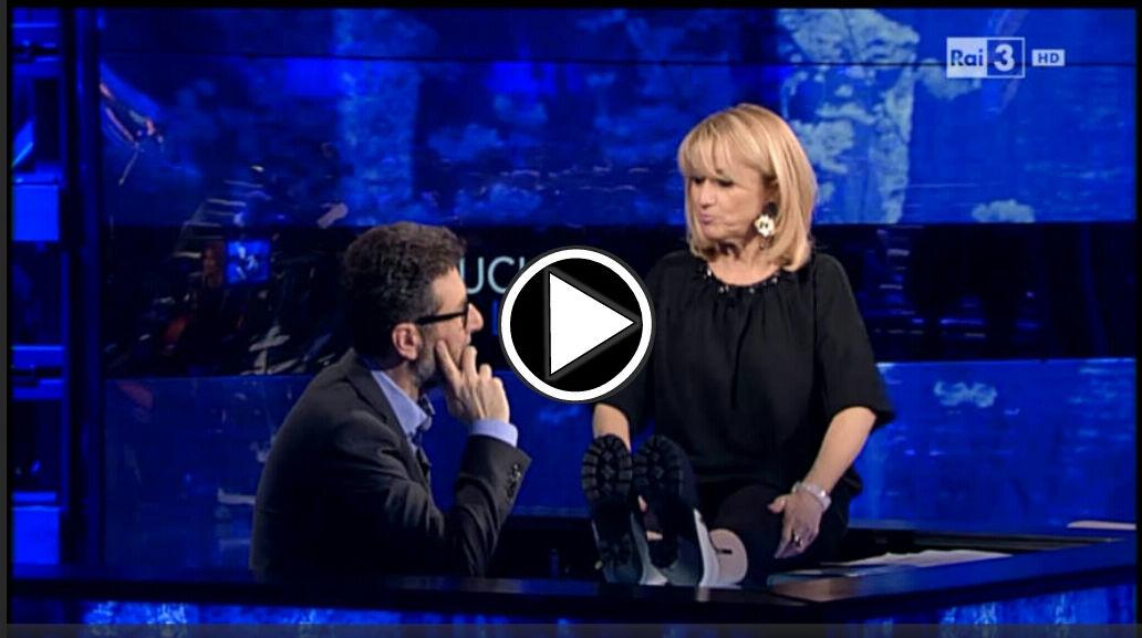 Luciana Littizzetto a Che Tempo Che Fa: Video 13 Marzo 2016