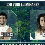Isola dei Famosi 2016 Nominati prima puntata Jonas Berami e Cludia Galanti