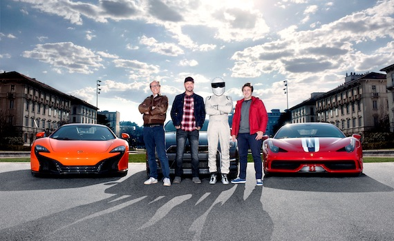 Prova nel traffico di Roma Top Gear Italia (Video)