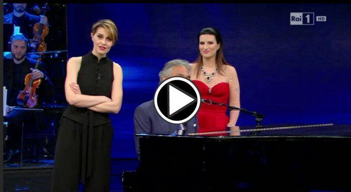 Andrea Bocelli a Laura e Paola Show: Video 1 Aprile 2016