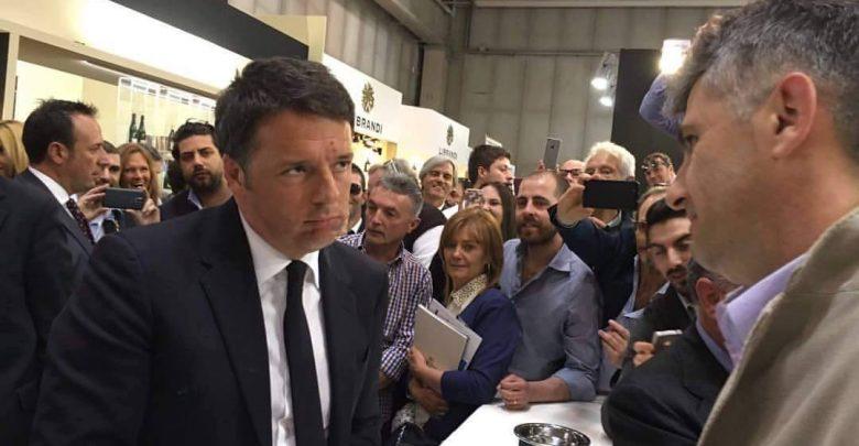 Vinitaly 2016, Renzi allo stand Mastroberardino (foto)