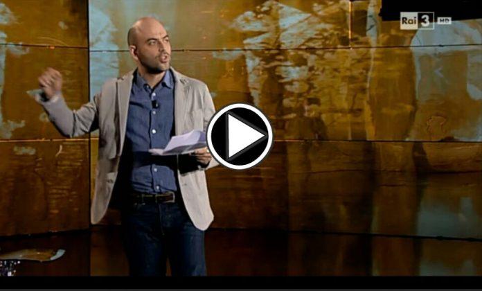 Roberto Saviano a Che Tempo Che Fa: Video 10 aprile
