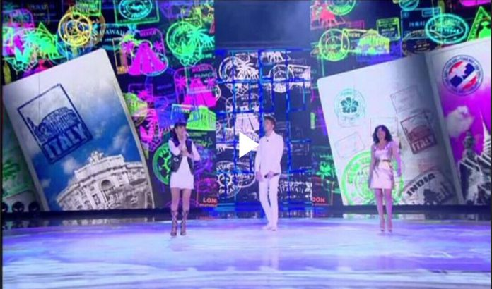 Baby K, Giusy Ferreri e Lele cantano