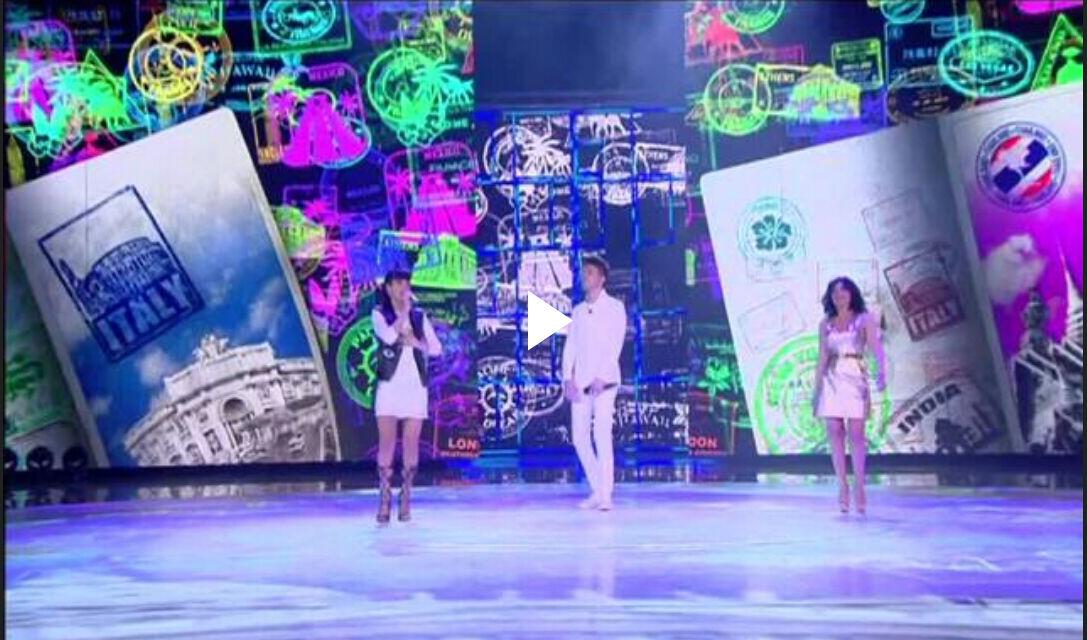 """Baby K, Giusy Ferreri e Lele cantano """"Roma Bangkok"""" ad Amici 15 (Video 23 Aprile)"""