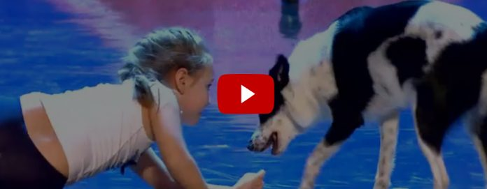 Bambina balla con il cane Camilla (Video Italia's got talent)