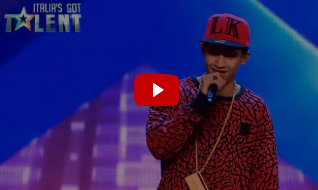Video Concorrente Balbettante fa Beat Box a Italia's Got Talent