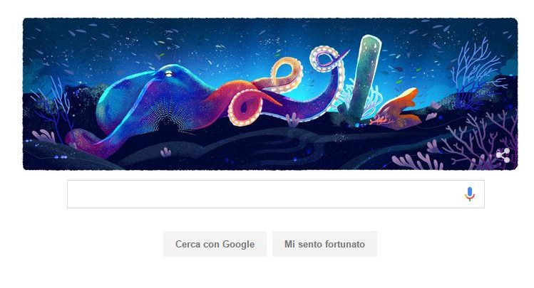 Doodle Google di oggi 22 aprile dedicato alla Giornata della Terra