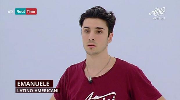 Serale Amici15: Emanuele Eliminato prima puntata (2 aprile 2016)