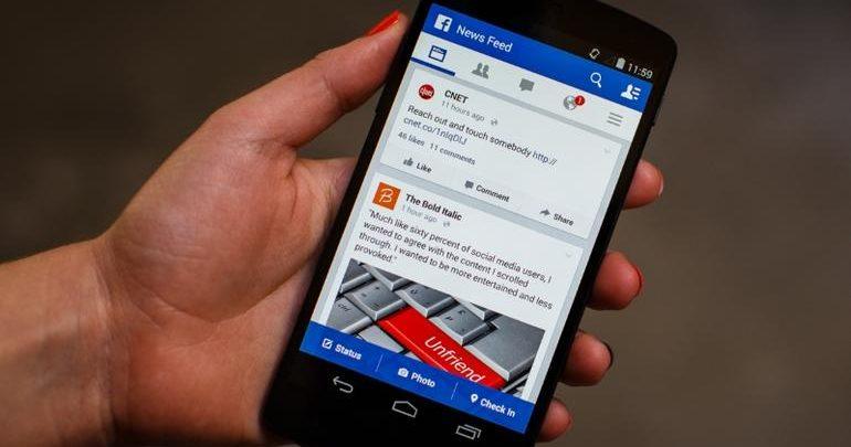 Novità Facebook per Android