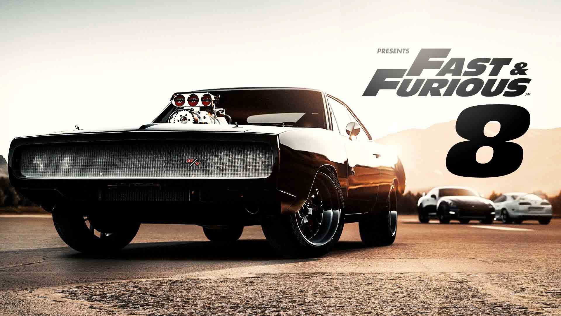fast and furious 8 primo poster ufficiale foto. Black Bedroom Furniture Sets. Home Design Ideas