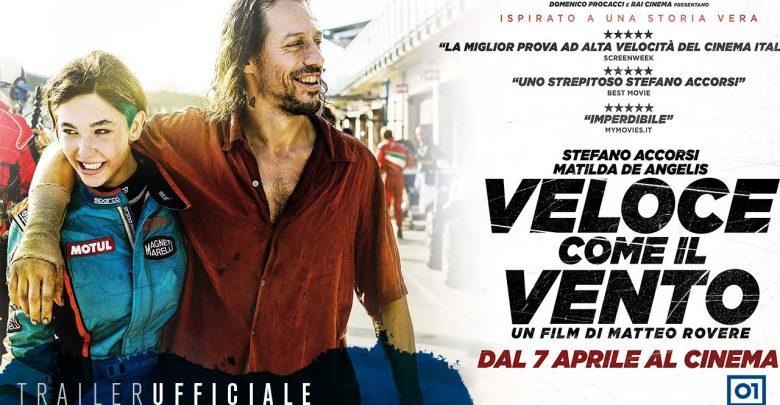 Trama Veloce come il vento: Film con Stefano Accorsi