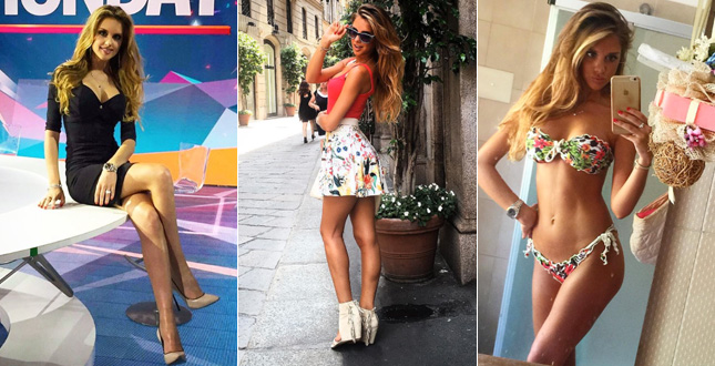 Michela Persico giornalista Mediaset, il fidanzato è Rugani?