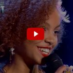 Video Federica canta Nina a Italia's Got Talent