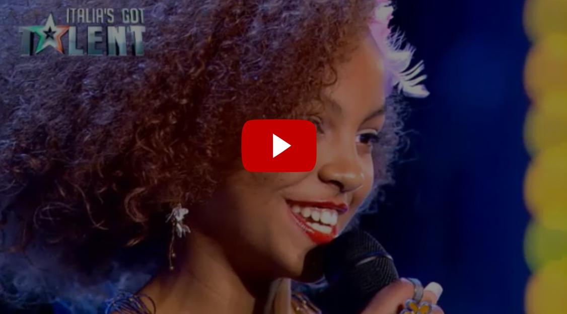 Video Federica canta Nina a Italia's Got Talent