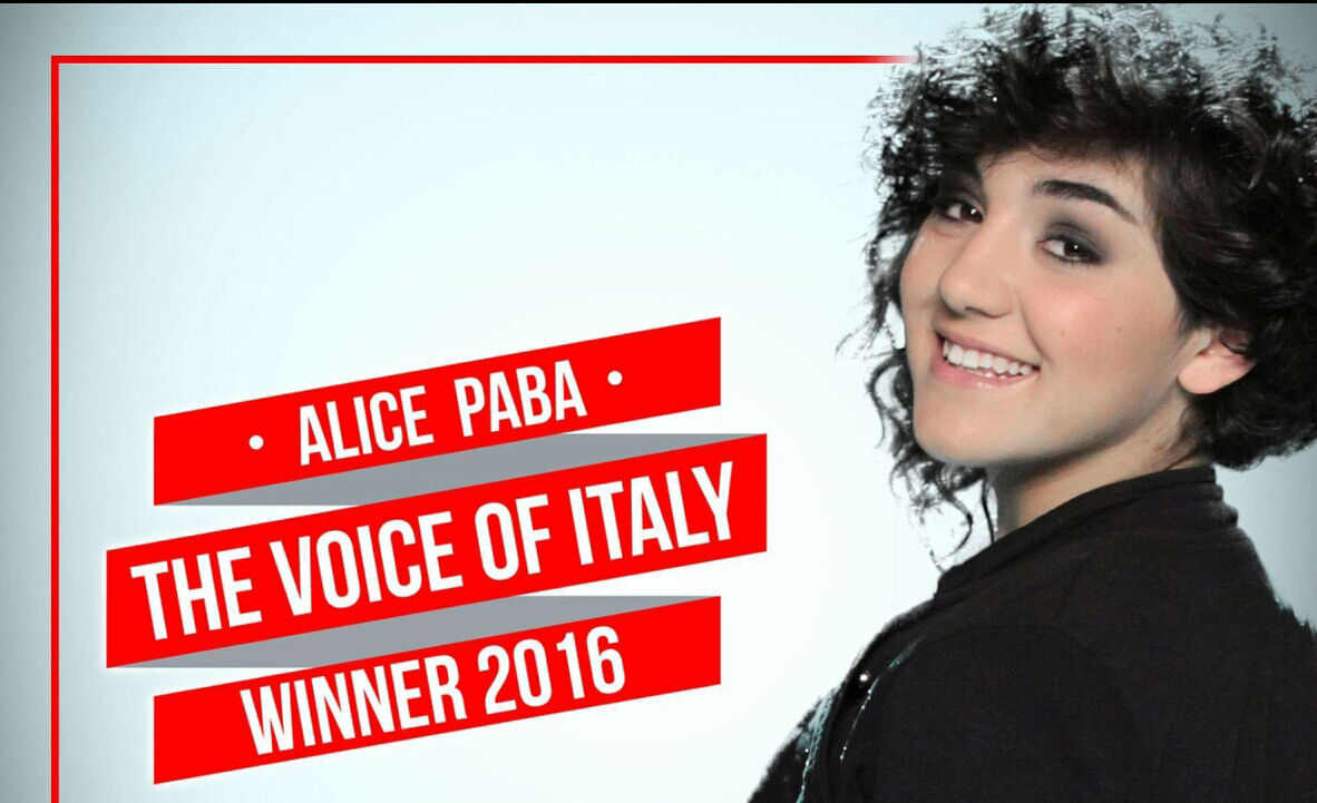 Chi ha vinto The Voice 2016? Alice Paba Vince