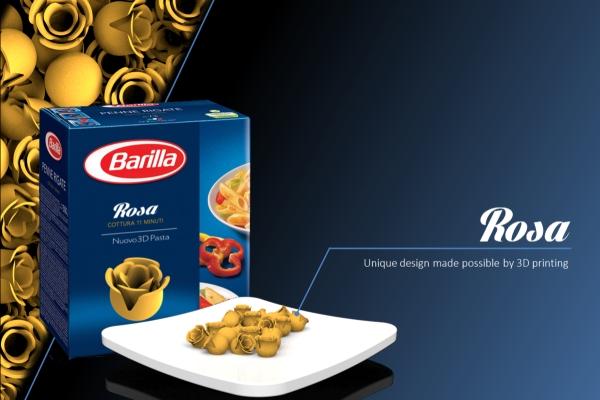 Barilla: Ecco la nuova pasta in 3D