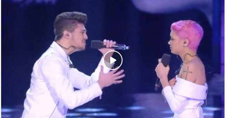 Duetto Elodie e Lele omaggio a Prince serale Amici 15 (Video)