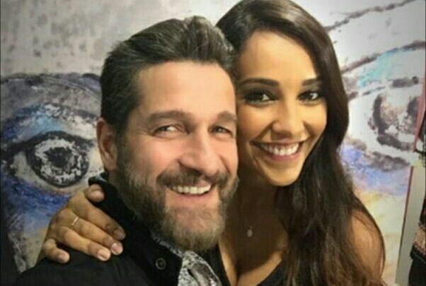 Juliana Moreira ed Edoardo stoppa aspettano il secondo figlio
