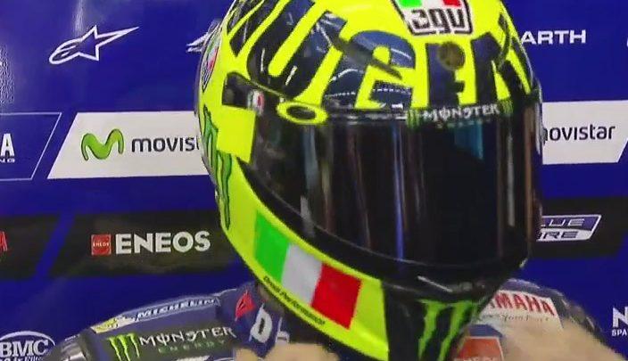 MotoGP Mugello 2016: nuovo casco Valentino Rossi (Foto)