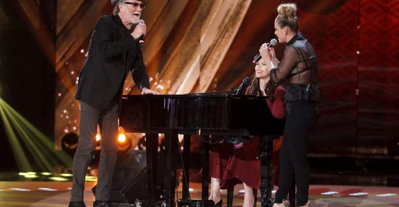 Emma e Elisa e Francesco De Gregori cantato ad Amici 15 (Video)