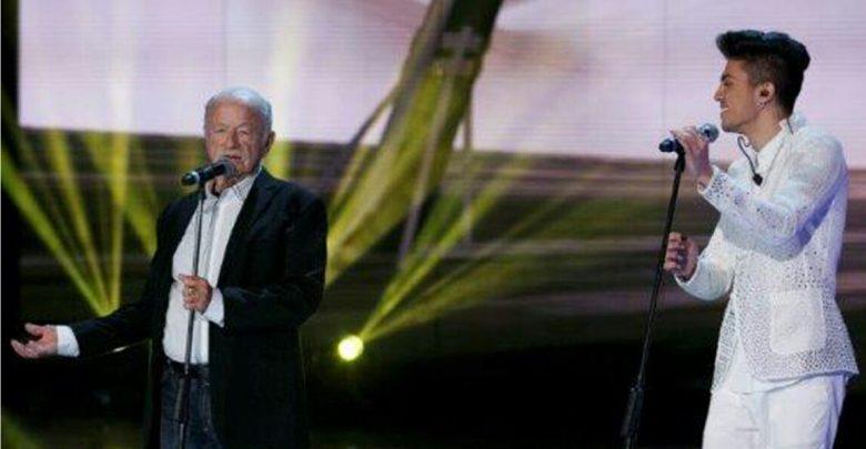 Lele canta con Gino Paoli ad Amici 15 (Video)