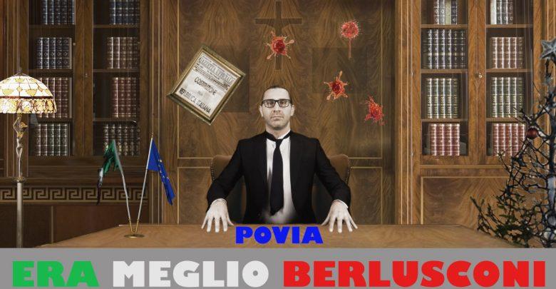 """Povia, """"Era meglio Berlusconi"""": Video della nuova canzone del cantante"""
