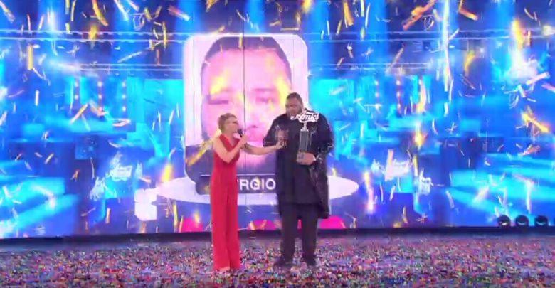 Finale Amici 15: Video Vittoria e Premiazione Sergio (25 Maggio 2016)