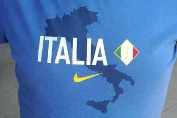 Magliette Nike Europei Calcio Italia senza Sardegna: ma è una bufala