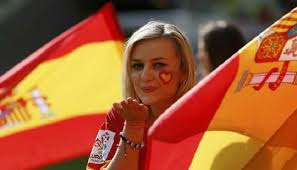 Tifosa-Spagna