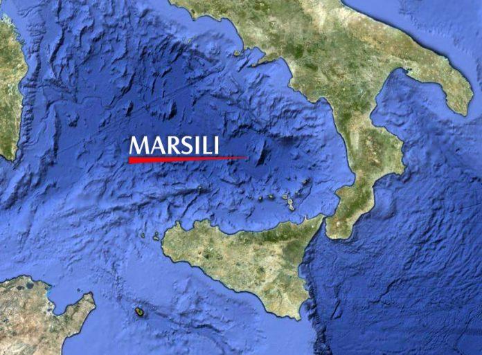 Terremoto Marsili Oggi, Epicentro in mare