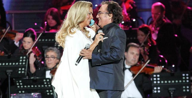 Al Bano e Romina Power insieme in un concerto in Romagna