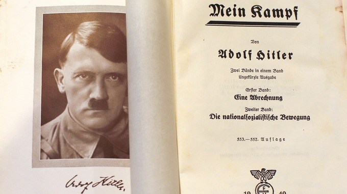 Mein Kampf di Hitler in edicola con Il Giornale dall'11 giugno