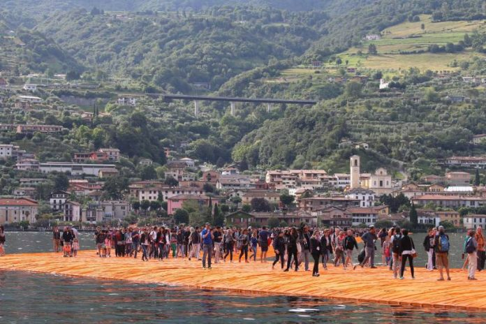 Passerella di Christo: Video in Diretta The Floating Piers