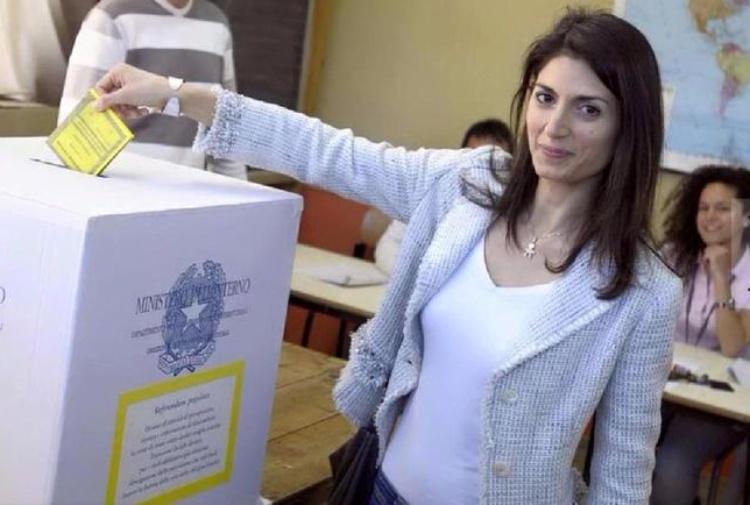 Ballottaggio Roma 2016, Raggi al Voto (Video)