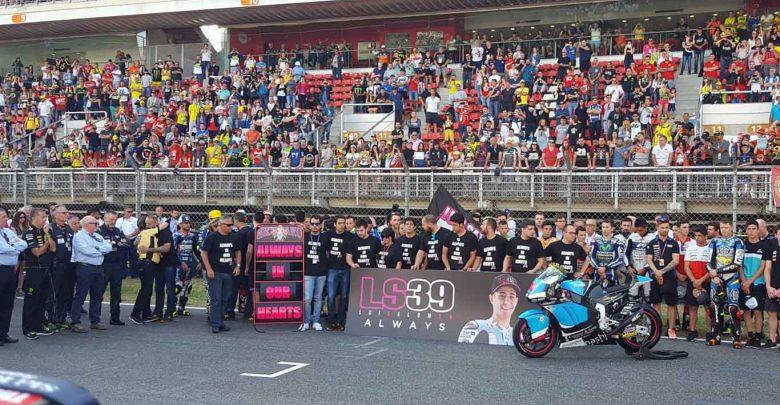 Ricordo morte Salom MotoGP: 1 minuto di rumore  (Video)