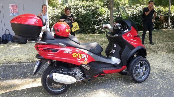 Scooter Enjoy a Roma: prezzi e tariffe