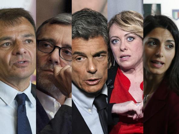 Proiezioni Elezioni Roma 2016