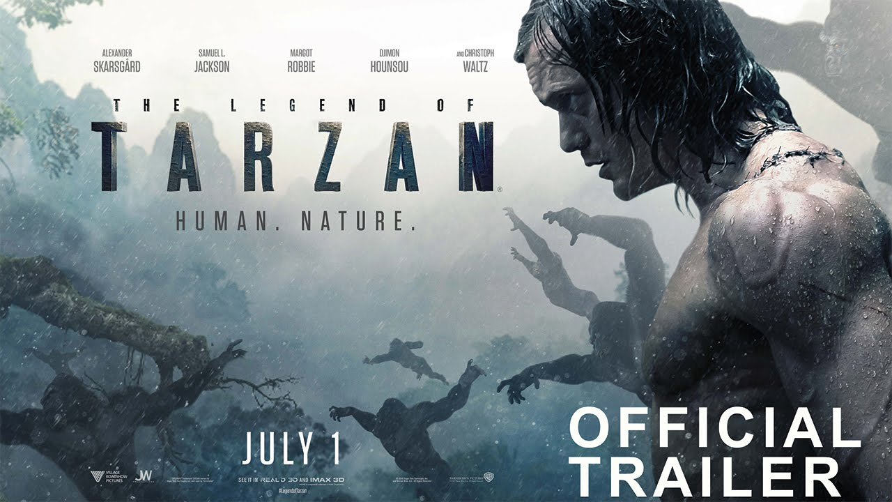 The Legend of Tarzan: quando esce, trama e video trailer del film