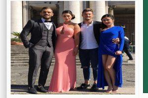 vestito Alessia Messina matrimonio Alessandra e Emanuele