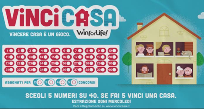 Estrazioni VinciCasa WinForLife oggi: numeri vincenti 15 Giugno 2016