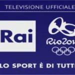 Olimpiadi Rio 2016, Rai: Programmazione, Diretta Tv e Streaming