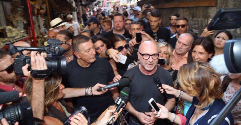 new arrival 5557b 5c1fd Dolce & Gabbana a Napoli, i video della sfilata