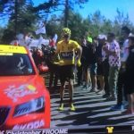 Video - Froome corre a piedi sul Mont Ventoux (Tour de France 2016)