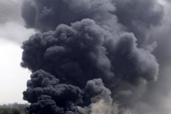 Incendio a Casalnuovo di Napoli: Campo Rom in fiamme