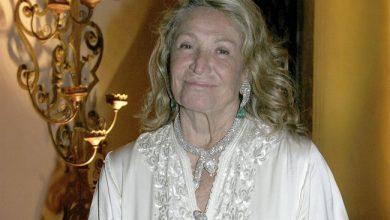 Photo of Marta Marzotto morta: Aveva 85 anni