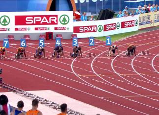 Europei Atletica 2016 Staffetta 4x100 Maschile Finale: Risultati gara
