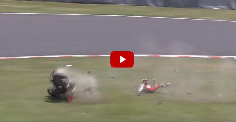 Incidente Stoner 8 ore di Suzuka 2015 (Video)